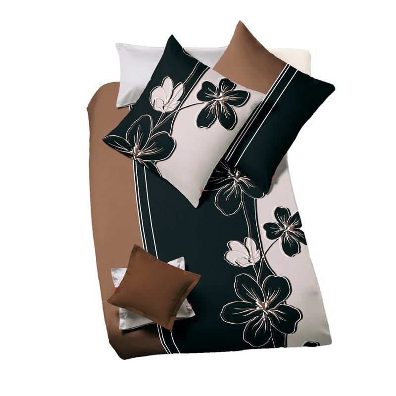 bettw sche mako satin fleuresse modern garden honig. Black Bedroom Furniture Sets. Home Design Ideas