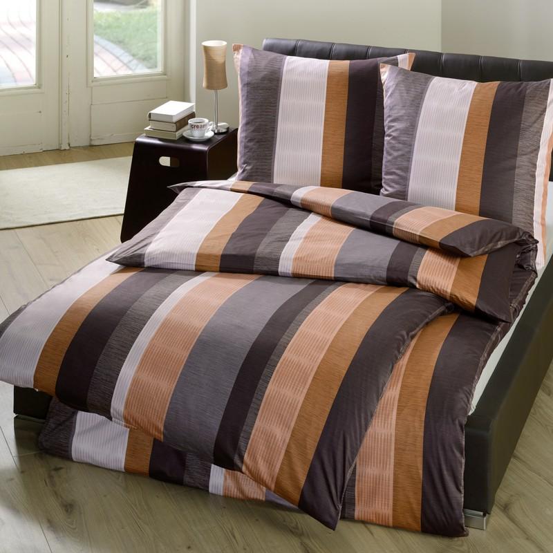 interlock jersey bettw sche estella baruti braun. Black Bedroom Furniture Sets. Home Design Ideas