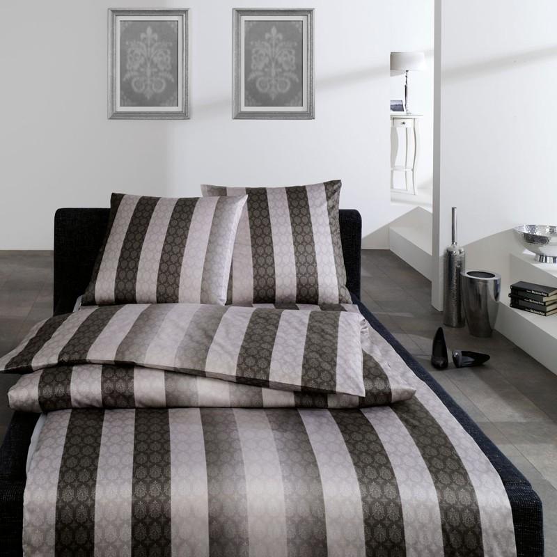 mako satin linge de lit estella finlay schiste royal home hommes linge de lit gris ebay. Black Bedroom Furniture Sets. Home Design Ideas