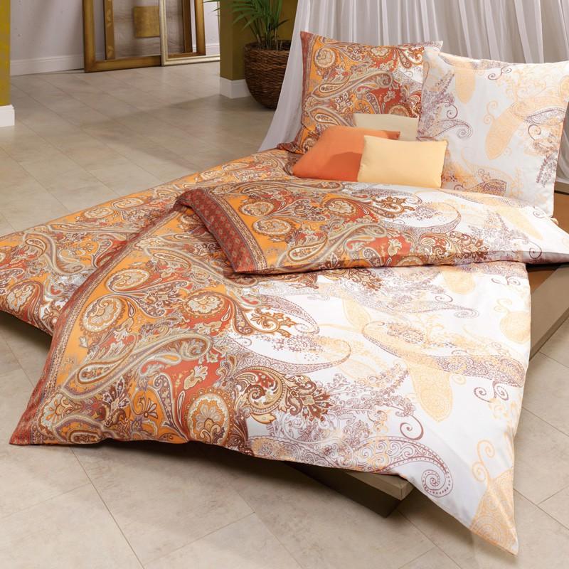 estella interlock jersey bettw sche bafan terracotta m. Black Bedroom Furniture Sets. Home Design Ideas